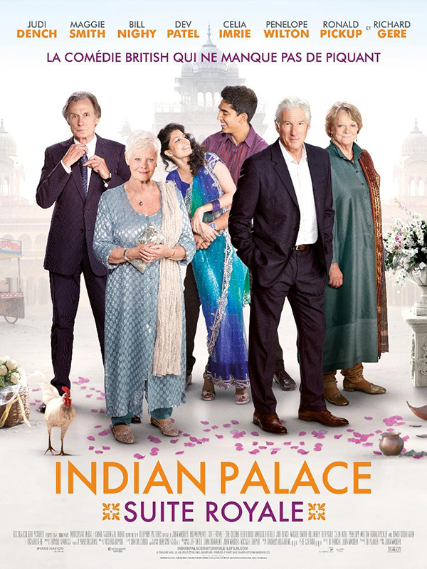INDIAN PALACE - SUITE ROYALE blu-ray