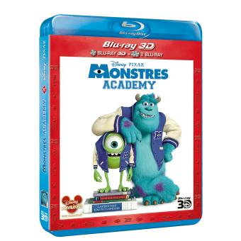 Monstres Academy blu-ray 3D